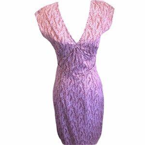 🖤 100% Cotton Burgundy Career Dress 1940s …